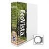 """Aurora Eco-Vista View Binder - 1 1/2"""" Binder Capacity - Letter - 8 1/2"""" x 11"""" Sheet Size - 3 x Round Ring Fastener(s) - 2 Spine, Inside Front & Back, Inside Front Pocket(s) - Polypropylene, Paperboard"""