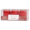 Flameless Wax Candle - Red