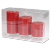 Flameless LED Wax Candle - Red