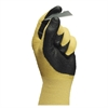 HyFlex Nitrile Gloves - 9 Size Number - Nitrile - Yellow - Abrasion Resistant, Knit Wrist, Latex-free - 2 / Pair
