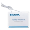 Baumgartens Sicurix Hanging Style Badge Kit - Vinyl, Plastic - 50 / Box - Clear