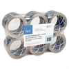 "Business Source Heavy-Duty Clear Acrylic Packaging Tape - 3"" Width x 55 ft Length - 3"" Core - Pressure-sensitive Poly - 2.50 mil - Acrylic Backing - Heavy Duty, Abrasion Resistant, Split Resistant, Mo"
