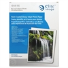 "Elite Image Premium Photo Paper - Letter - 8.50"" x 11"" - Glossy - 50 / Pack - White"
