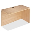 "Lorell Concordia Series Latte Laminate Desk Ensemble - 47.3"" x 23.6"" x 29.5"" - Finish: Laminate, Latte"