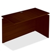 "Lorell Concordia Laminate Desk Ensemble - 47.3"" x 23.6"" x 29.5"" - Finish: Laminate, Mahogany"