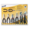 9 Piece Plier Set - Black, Silver