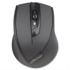 Compucessory VTrack 4 Button Wireless Mouse - V-Track - Wireless - Radio Frequency - Black - 2000 dpi - Tilt Wheel - 4 Button(s)