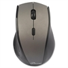 Compucessory Wireless Mouse, 2.4G, Gray - V-Track - Wireless - Radio Frequency - Gray - 2000 dpi - Tilt Wheel - 6 Button(s)