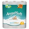 "Angel Soft PS 24 Roll Bathroom Tissue - 2 Ply - 4"" x 4"" - 240 Sheets/Roll - White - Soft, Strong - 96 / Carton"