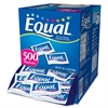 Equal Sugar Substitute Packets - 0 lb (0 oz) - Artificial Sweetener - 500/Box