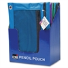 "CLI Carrying Case (Pouch) for Pencil, Ring Binder - Assorted - 7.6"" Height x 10"" Width x 0.1"" Depth"