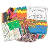 ChenilleKraft 100th Day Of School Activity Box - Decoration - 100 Piece(s) - 1 / Box - Assorted