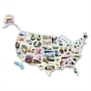 ChenilleKraft Wonderfoam Giant USA Photo Puzzle - Theme/Subject: Fun, Learning - Skill Learning: History, Landmark - 57 Pieces