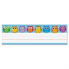 "Carson-Dellosa Owl Nameplates - 36 / Pack - 9.5"" Width x 2.9"" Height"