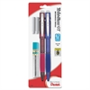 Pentel Twist-Erase GT Mechanical Pencil - HB, #2 Lead Degree (Hardness) - 0.7 mm Lead Diameter - Assorted Aluminum Alloy Barrel - 2 / Pack