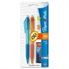 Paper Mate Quick Flip Mechanical Pencils - #2 Lead Degree (Hardness) - 0.7 mm Lead Diameter - Refillable - Assorted Barrel - 2 / Pack