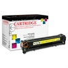 Products Remanufactured Toner Cartridge Alternative For HP 125A (CB542A) - Yellow - Laser - 1400 Page - 1 Each