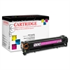 Products Remanufactured Toner Cartridge Alternative For HP 125A (CB543A) - Magenta - Laser - 1400 Page - 1 Each