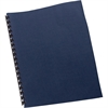 "Swingline® GBC® Linen Weave® Standard Pres Covers - 8.5"" Height x 11"" Width - For Letter 8.50"" x 11"" Sheet - Square - Navy - Paper - 200 / Box"