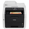 Brother MFC-9330CDW LED Multifunction Printer - Color - Plain Paper Print - Desktop - Copier/Fax/Printer/Scanner - 22 ppm Mono/22 ppm Color Print - 2400 x 600 dpi Print - Automatic Duplex Print - 22 c