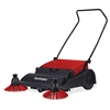 "Sanitaire 32"" Wide Area Vacuum Sweeper - 32"" Cleaning Width - Red, Black"