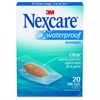 "Waterproof Bandages - 1.06"" x 2.25"" - 20/Each - Clear"