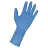 14 Mil Max Protection Ind Latex Gloves - Large Size - Latex - Dark Blue - Heavy Duty, Textured, Powder-free - For Industrial - 50 / Box
