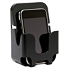 Cubicle Wall Recycled Cell Phone Holder - Plastic - 1 Each - Black