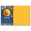 "Heavyweight Construction Paper - 18"" x 12"" - 76 lb Basis Weight - 50 / Pack - Gold - Sulphite"