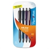 InkJoy 700 RT Ballpoint Pens - Medium Point Type - 1 mm Point Size - Black - Assorted Barrel - 4 / Pack