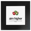 "AIM Poster - Motivation - 20"" Width x 20"" Height - Black"