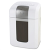 "Compucessory Medium-duty Cross-cut Shredder - Cross Cut - 12 Per Pass - for shredding Paper, CD, DVD, Credit Card, Staples, Paper Clip - 8.60"" Throat - 4.20 gal Wastebin Capacity - White"