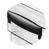 Ice Desk Accessories Tray Risers - Polystyrene - Black