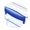 Ice Desk Accessories Tray Risers - Polystyrene - Ice Blue