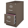 "Fortress Series 26.5'' Letter-size Vertical Files - 15"" x 26.5"" x 28.4"" - 2 x Drawer(s) for File - Letter - Vertical - Label Holder, Drawer Extension, Ball-bearing Suspension, Heavy Duty, Secur"
