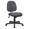 "Lorell Tilt/Tension Task Chair - Gray Seat - Gray Back - 5-star Base - Gray - 14"" Width x 24"" Depth x 25"" Height"