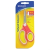 "Soft Handle 5"" Kids Value Scissors - 5"" Overall Length - Blunted - Left/Right - Plastic, Stainless Steel - Assorted"