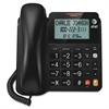 CL2940 Standard Phone - Black - Corded - 1 x Phone Line - Speakerphone - Hearing Aid Compatible