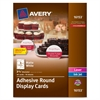 Avery Tent Card - Matte - 40 / Pack - Bright White