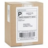 "Business Source Permanent Adhesive White Mailing Label - Permanent Adhesive - 5.50"" Width x 8.50"" Length - Rectangle - Laser - White"