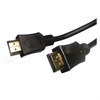 Compucessory HDMI Cable - HDMI for Audio/Video Device, TV - 6 ft - 1 Pack - 1 x HDMI Male Digital Audio/Video - 1 x HDMI Male Digital Audio/Video - Black