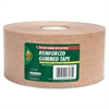 "Duck Filament Tape - 2.75"" Width x 125 yd Length - Kraft - Kraft Paper Backing - Heavy Duty, Reinforced - 1 / Roll - Brown"
