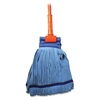 "Genuine Joe Microfiber Tube Wet Mop Complete - MicroFiber Head - 60"" Handle - Launderable, Absorbent - 1 Each"