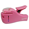 Kokuyo Staple-Free Stapler - 4 Sheets Capacity - Light Pink