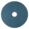 "Niagara 5300N Floor Cleaning Pads - 16"" Diameter - 5/Box x 16"" Diameter - Blue"