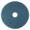 "Niagara 5300N Floor Cleaning Pads - 20"" Diameter - 5/Box x 20"" Diameter - Blue"