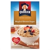 Quaker Oats Foods Instant Oatmeal - Brown Sugar, Maple - Packet - 15.10 oz - 10 / Box