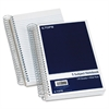 "TOPS 5 Subject Wirebound Notebook - 175 Sheets - Printed - Coilock - 15 lb Basis Weight 6"" x 9.50"" - White Paper - Navy Cover - 1 / Each"