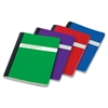 "TOPS Poly Cover Composition Book - 100 Sheets - Sewn 7.50"" x 9.75"" - Assorted Paper - Assorted Cover - Poly Cover - 1Each"