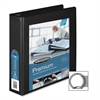 "Wilson Jones 879 Premium Single-Touch Locking Round Ring View Binders, 2"" - 2"" Binder Capacity - Letter - 8 1/2"" x 11"" Sheet Size - 500 Sheet Capacity - 3 x Round Ring Fastener(s) - 4 Internal Pocket("